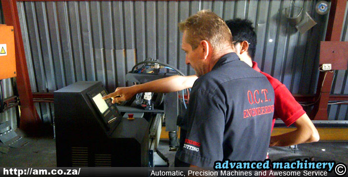 CNC Plasma Cutter Training