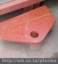 Plasma Cutting Sample