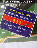 Cemented Carbide Roland Blades