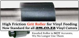 Grit Roller v.s. Knurled Roller