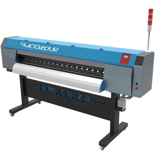 AM.CO.ZA FastCOLOUR 1860mm Large-Format ECO Solvent Ink Inkjet Printer with EPSON® DX5 Printhead