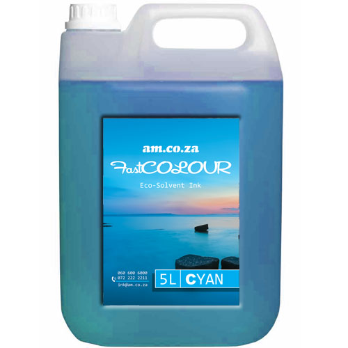 Cyan Eco-Solvent Ink