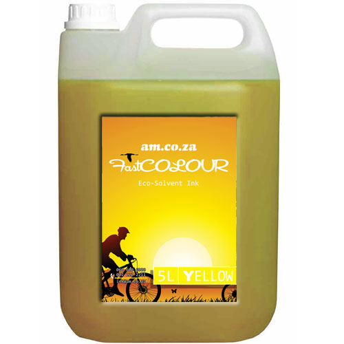 Yellow Eco-Solvent Ink