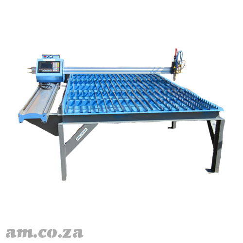 AM.CO.ZA MetalWise™ Lite CNC Plasma/Flame Dry/Water Cutting Table 1500×3000mm with Stepper Motor, Flame Torch and Arc Voltage THC