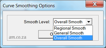 Smooth Curve Options