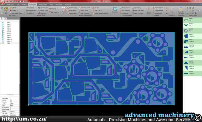 Sigmanest Profile Cutting Amp Sheet Metal Cad Cam System