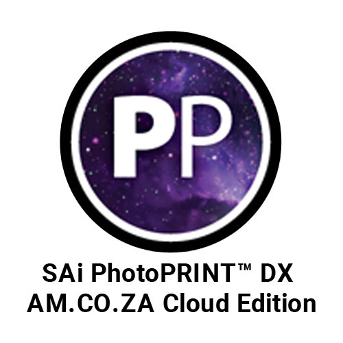 SAi PhotoPRINT™ DX 12 AM.CO.ZA Cloud Edition RIP Software Activation Code, Support Windows 7+