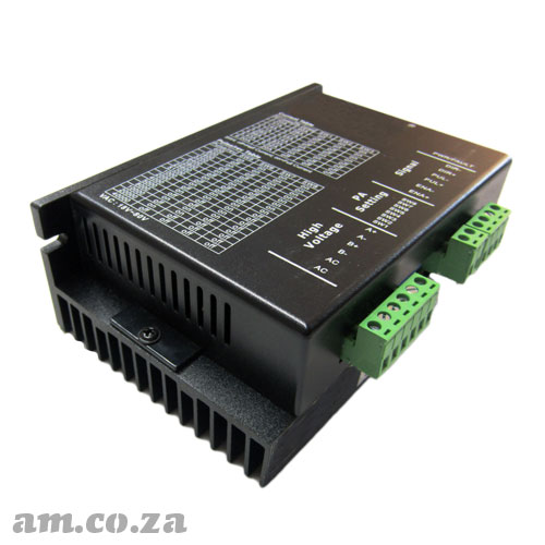 DC Input Single-Phase Medium Capacity Microstepping Motor Driver ( Controller ) for 86/450 Series Stepper Motor