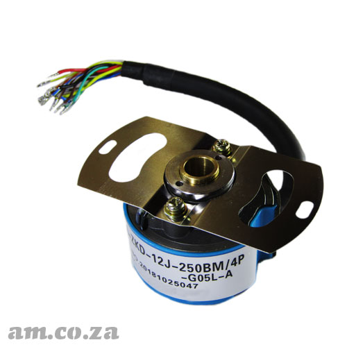 Medium Capacity Brushless Optical Servo Motor Encoder 4P 2500P/R