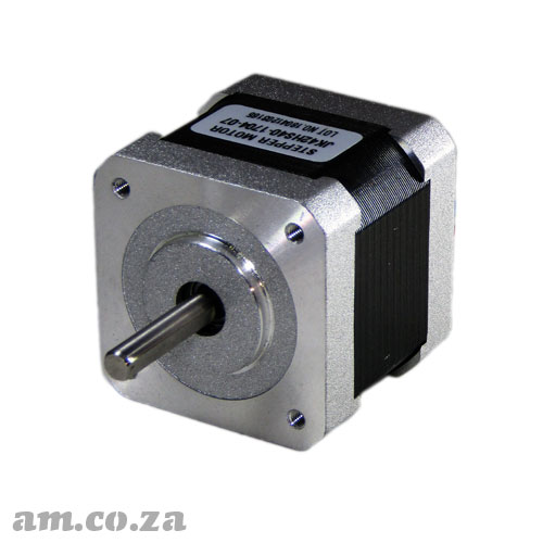 42HS40 Series Single Phase 4 Leads Wire with Plug Stepper Motor with 1.8° Step Angle