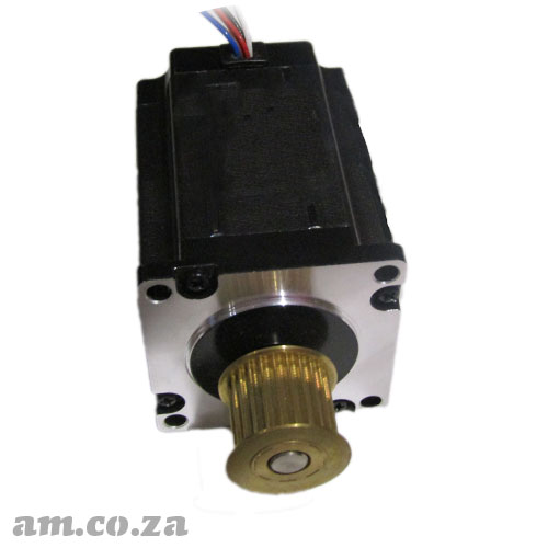 57 Series Three Phase 6 Leads Wire with Plug Hybrid Stepper Motor with 1.2° Step Angle