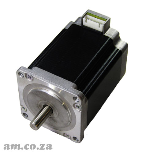 57 Series Three Phase Hybrid Stepper Motor with 6 Leads Socket, 1.2° Step Angle