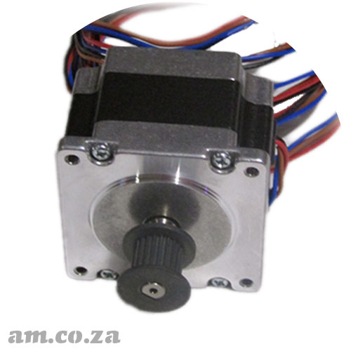57 Series Single Phase 4 Leads Hybrid Stepper Motor Compact Version with 1.8° Step Angle