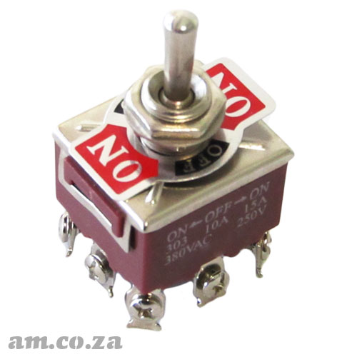 3 Position Toggle Switch with 9 PIN Terminals for CNC Automation