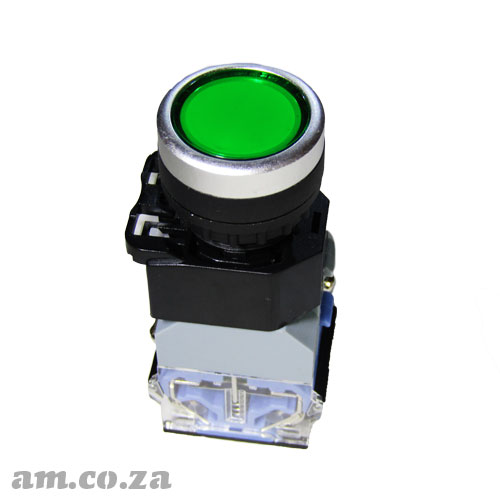 Generic Φ22 Mounting Hole Size ON/OFF Push Button Switch for CNC Automation