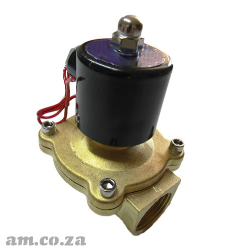 AC220V Electromagnetic Valve of Max. Pressure 10kg/cm2 with 1 inch Pipe Size Connector