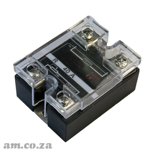 40A Single Phase AC Solid State Voltage Regulator SSVR 40A 2W