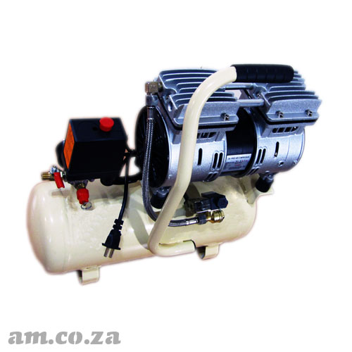Generic 220V 550W Quiet Air Compressor with Oil Free Quiet Design and 8L Air Tank Capacity