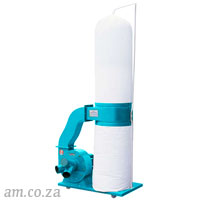 Generic Industrial Dust Collector 380V 2.2kW with Single Bucket and Two Bags