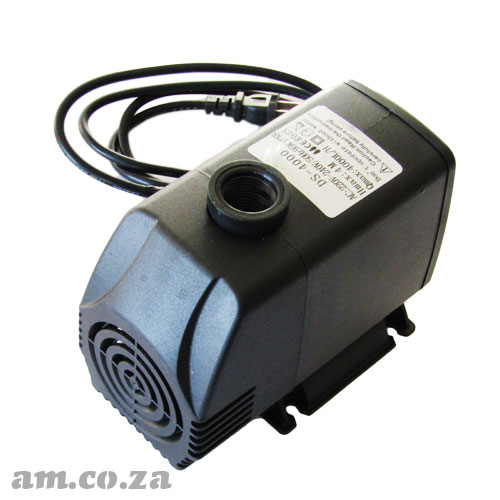 Generic 220V Submersible Water Pump for CNC Machine Cooling