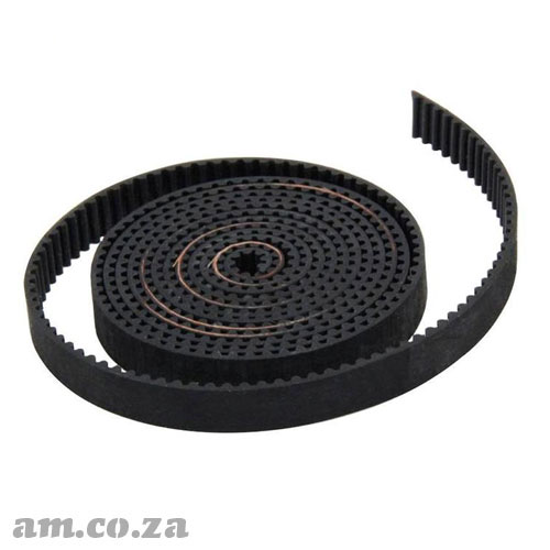 Generic Open Ended Elastomeric Timing Belt Per 50mm Portion
