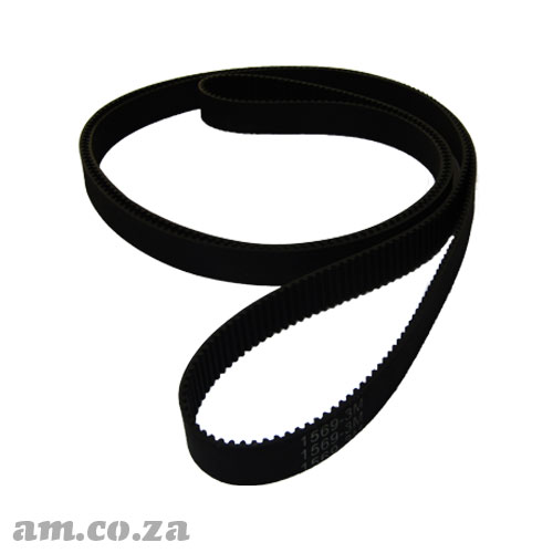 1569-3M Trapezoidal-Tooth Timing Belt, Closed-loop 3M Pitch Elastomeric Timing Belt 1569mm Length, ~10/15mm Width for CNC Automation Machines