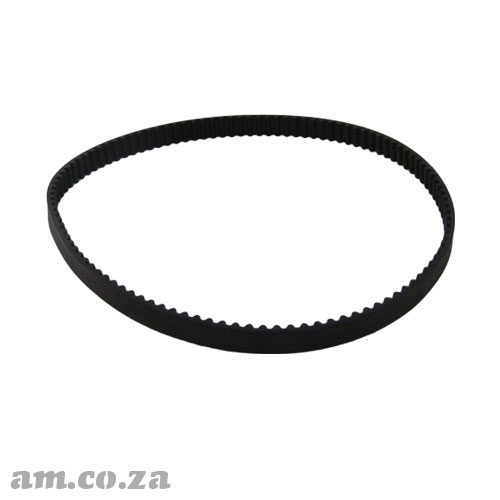 550-5M Trapezoidal-Tooth Timing Belt, Closed-loop 5M Pitch Elastomeric Timing Belt 550mm Length, ~15/20mm Width for CNC Automation Machines