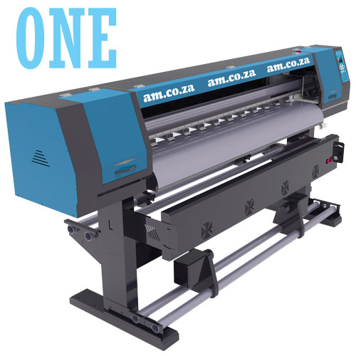 AM.CO.ZA FastCOLOUR™ ONE 1600mm Printing Area Large Format Printer Barebone Unit, No Printhead, No Software, No Inks