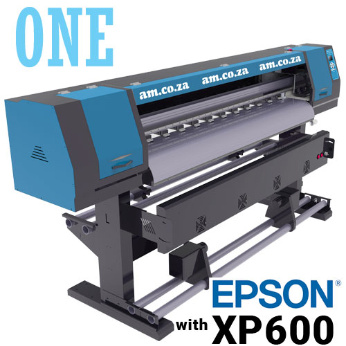 AM.CO.ZA FastCOLOUR™ ONE 1600mm Printing Area Large Format Printer with EPSON® XP600 Printhead, No Software, No Inks