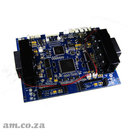 Double Epson XP600 Printhead Carriage Control Board Set for AM.CO.ZA FastCOLOUR™ ONE Large Format Printer