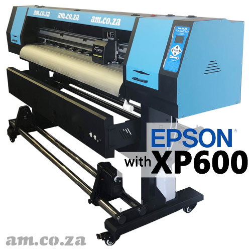 AM.CO.ZA FastCOLOUR™ Lite 1600mm EPSON® XP600 Printhead Budget Solvent/Water Ink Inkjet Wide-Format Printer, No Software, No Inks