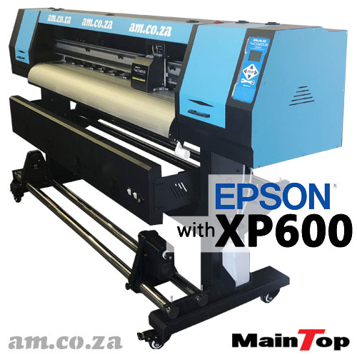AM.CO.ZA FastCOLOUR™ Lite 1600mm EPSON® XP600 Printhead Budget Solvent/Water Ink Inkjet Wide-Format Printer with MainTop RIP Software