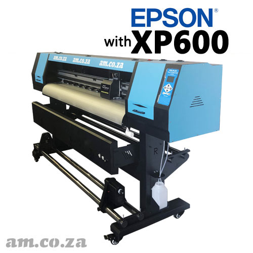 AM.CO.ZA FastCOLOUR™ Lite 1800mm EPSON® XP600 Printhead Budget Solvent/Water Ink Inkjet Wide-Format Printer Full Package