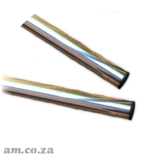 Pair of Two Stainless Steel Round Bars for Take-Up Paper Roller of 1800/1860mm AM.CO.ZA FastCOLOUR™ Printer