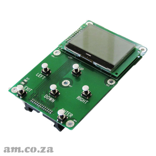 Keypad with LCD Screen Replacement for AM.CO.ZA FastCOLOUR™ Large Format Printer