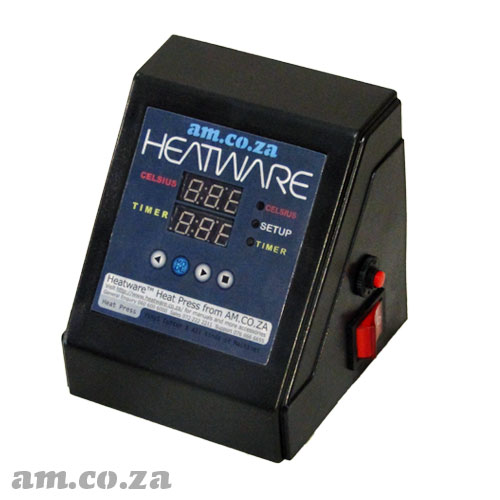 AM.CO.ZA Heatware™ Multitalent Heat Press Control Unit with Separate Temperature and Timer