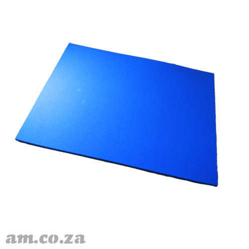 High Temperature Resistant Silicone Foam Rubber Mat of 290×380mm Size and 8mm Thickness