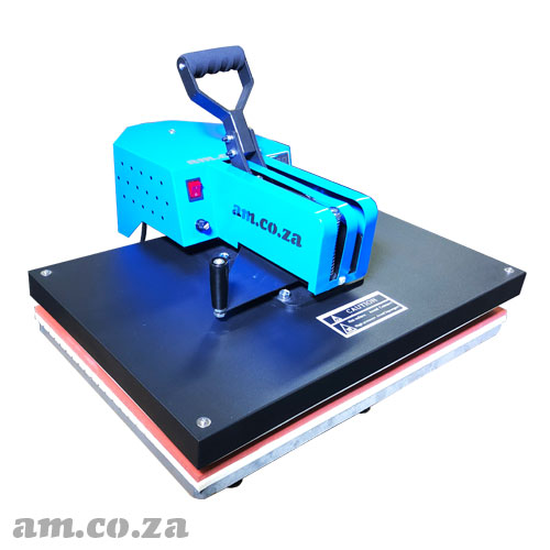 AM.CO.ZA Heatware™  1800W 400×600mm  Swing-Away Heavy Duty Flat Press Heat Press Machine, Great for T-Shirt Printing