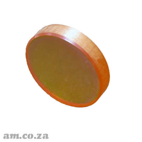 Φ12mm ZnSe (Zinc Selenide) Lens FL 50.8mm with Two Sides Anti-Reflection (AR/AR) Coating for CO2 Laser Beam