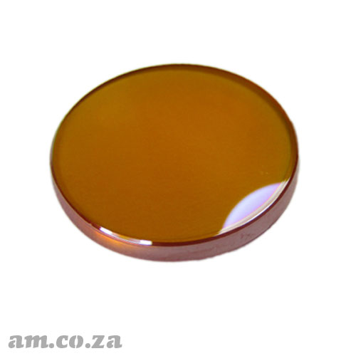Φ20mm ZnSe (Zinc Selenide) Lens FL 38.1mm with Two Sides Anti-Reflection (AR/AR) Coating for CO2 Laser Beam