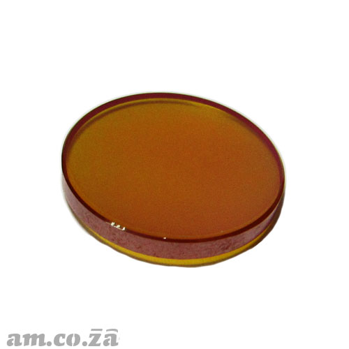 Φ20mm ZnSe (Zinc Selenide) Lens FL 63.5mm with Two Sides Anti-Reflection ( AR/AR ) Coating for CO2 Laser Beam