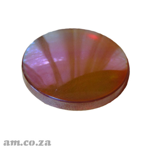 Φ25mm ZnSe (Zinc Selenide) Lens FL 50.8mm with Two Sides Anti-Reflection ( AR/AR ) Coating for CO2 Laser Beam