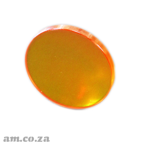 Φ25mm ZnSe (Zinc Selenide) Lens FL 63.5mm with Two Sides Anti-Reflection (AR/AR) Coating for CO2 Laser Beam