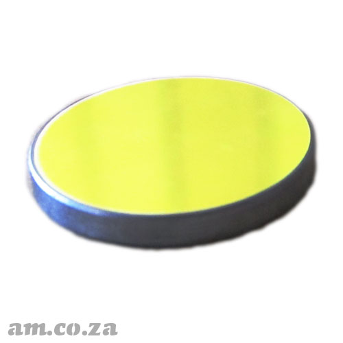 Φ25mm Silicon Reflection Mirror Plated with Multi-layer Dielectric Film for CO2 Laser Beam
