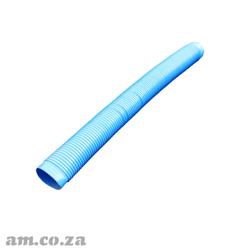 Φ150mm Rubber Extraction Hose with Reinforced Metal Wire, ~1.3 Meters Long