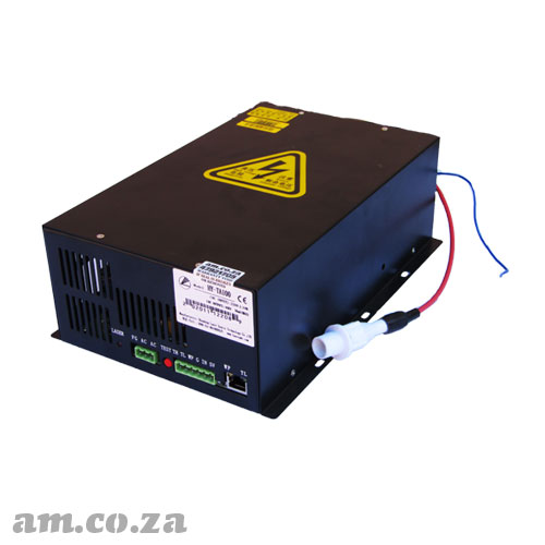 100W CO2 Laser Power Supply Unit Suggest for 100W CO2 Glass Laser Tube (Can Work with 120W/130W Laser Tube too) with Adjustable Current