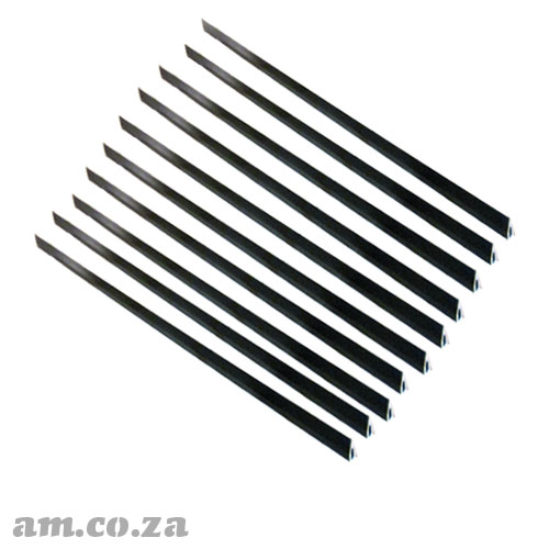 10 Pieces of 900mm Length Anodized Aluminum Slats for TruCUT™ Cabinet Laser Cutting Table