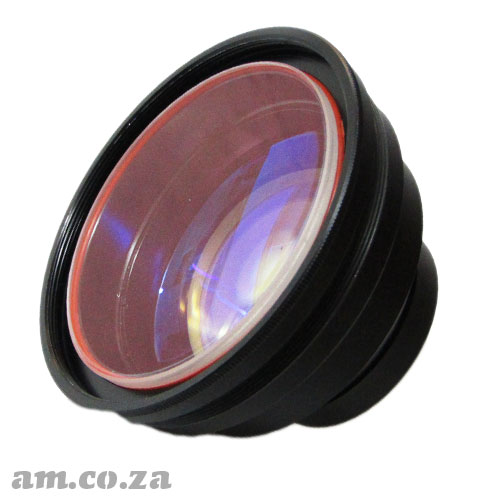 Focus Lens for 10.64um Wavelength Laser with 200×200mm Working fields, 330mm Focus Length and 70µm Focus Diameter