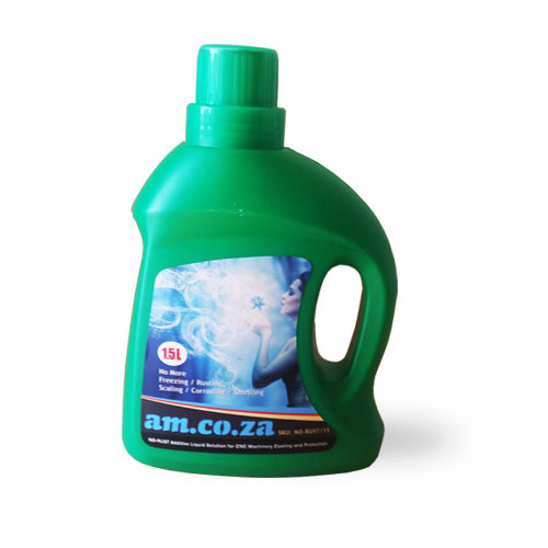 AM.CO.ZA NO-RUST Additive Liquid Solution for CNC Machinery Cooling and Protection 1.5kg Bottle