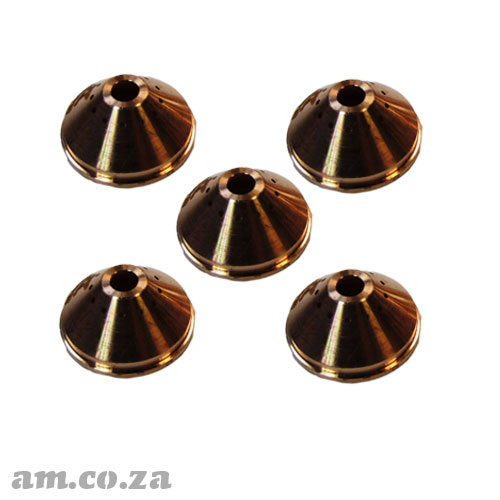 AM.CO.ZA MetalWise™ Mach™Three 2<sup>nd</sup> Generation 130A Plasma Air-Cooling Mechanized Torch Shield Pack of 5